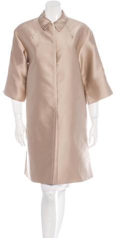 Chloé Chloé Oversize Knee-Length Coat