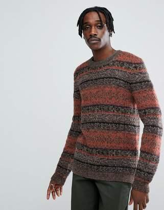 Asos (エイソス) - Asos Design ASOS Textured Sweater in Retro Design