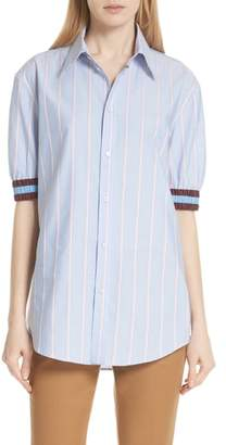 N°21 N21 Stripe Cotton Shirt