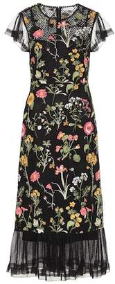 RED Valentino Floral cotton dress