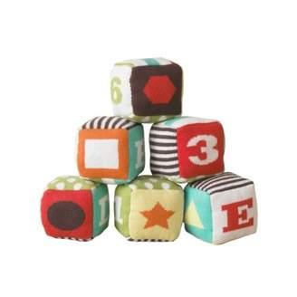 DwellStudio Cubes (Set of 6) Multicoloured
