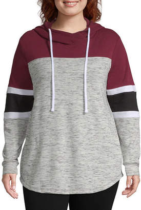 Miss Chievous Long Sleeve French Terry Hoodie-Plus