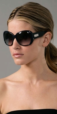 Yves Saint Laurent Thick Rim Sunglasses