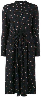 Parker Chinti & floral flared shirt dress