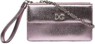 Dolce & Gabbana Metallic Pattern Shoulder Bag