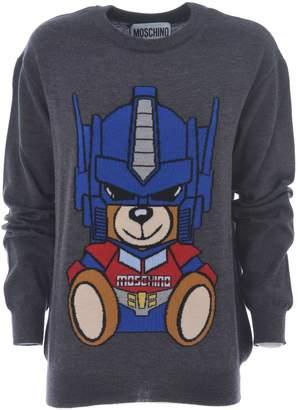Moschino Transformer Bear Jumper