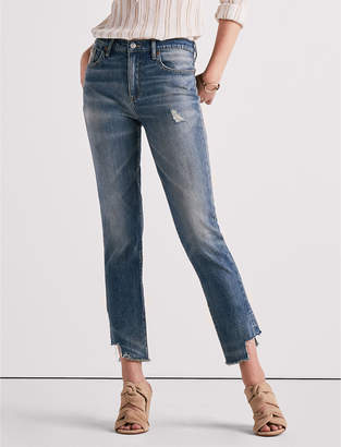 Lucky Brand HIGH RISE TOMBOY JEAN WITH SIDE STEP HEM