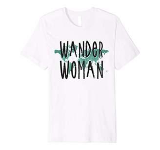 Travel Shirt Wander Woman World Map T-Shirt