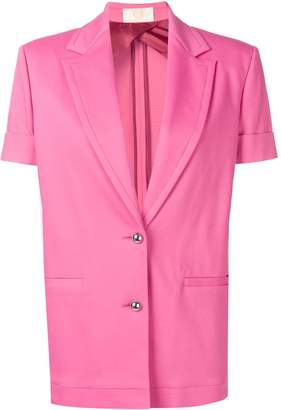 Sara Battaglia short-sleeved jacket