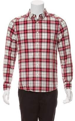 3.1 Phillip Lim Plaid Button-Up Shirt