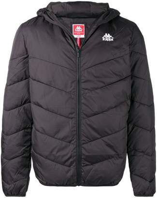 Kappa hood padded jacket