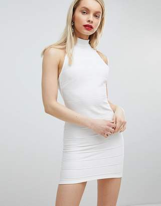 Miss Selfridge Halter Bandage Dress