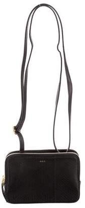 A.L.C. Snakeskin Ryder Crossbody Bag