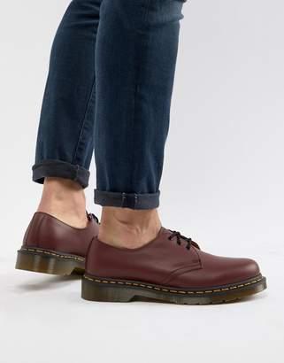 Dr. Martens (ドクターマーチン) - Dr Martens original 3-eye shoes in red 11838600