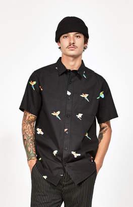 PacSun Flight Classic Short Sleeve Button Up Shirt