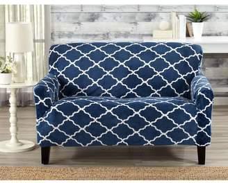 Alcott Hill T-Cushion Loveseat Slipcover