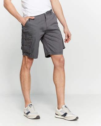 Buffalo David Bitton Hafford Twill Cargo Shorts