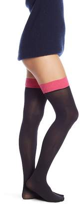 Pretty Polly Opaque Top Over The Knee Socks