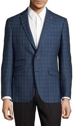 Ted Baker NO ORDINARY JOE Plaid Wool Jacket