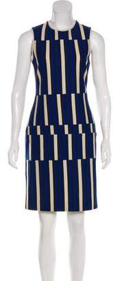 Lanvin Striped Knit Dress
