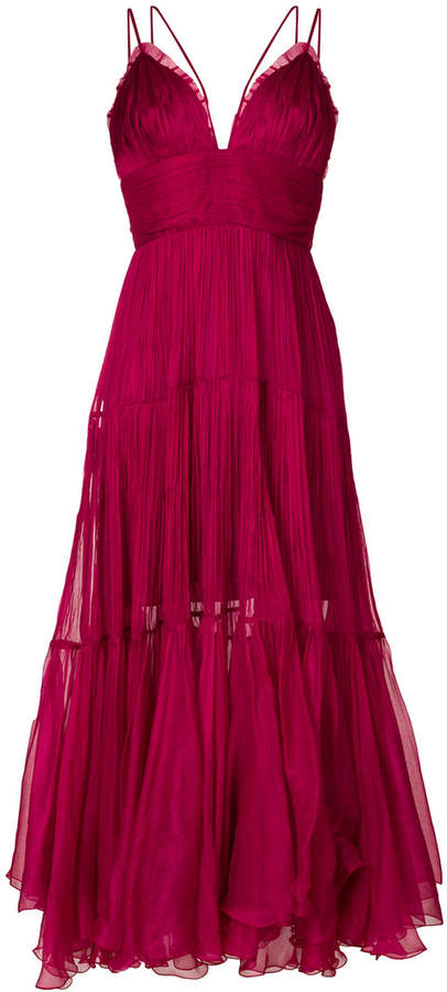 double-strap cocktail dress