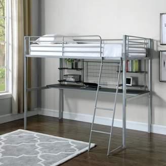 LOFT Coaster Company Boltzero Bunk Bed in Silver