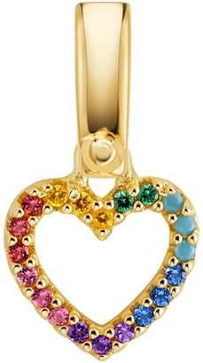 Michael Kors Rainbow Pave Heart Charm