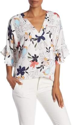 Parker Bell Sleeve Floral Blouse