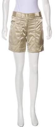 Prada Sport Sateen Knee-Length Shorts