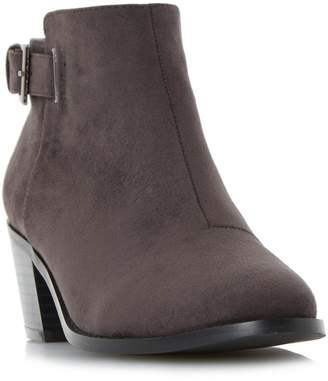 Head Over Heels PRIYANKA - Buckle Strap Block Heel Ankle Boot
