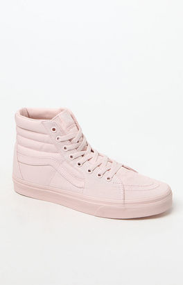 Vans Women's Mono Canvas Sk8-Hi Sneakers $60 thestylecure.com