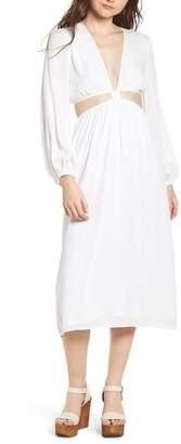 WAYF Babylon Cutout Dress