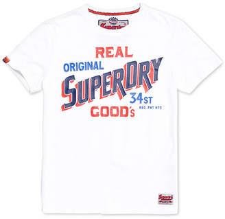 Superdry Men's 34 Street Goods Logo-Print T-Shirt