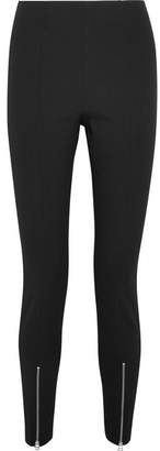 Elizabeth and James Eddine Twill Slim-leg Pants - Black
