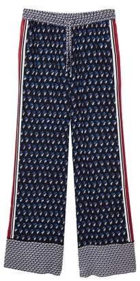 MANGO Flower print pants