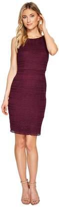 Adrianna Papell Julia Fringe Lace Sheath Dress Women's Dress