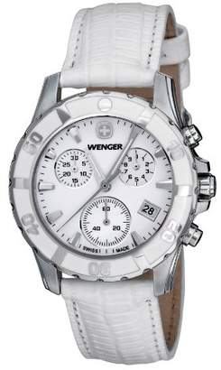 Wenger Women's 70741 Sport Chrono Dial Leather Watch