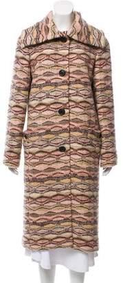 Missoni Long Wool Coat