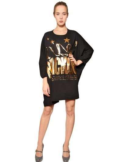 Vivienne Westwood London Blackout Oversize Jersey Dress