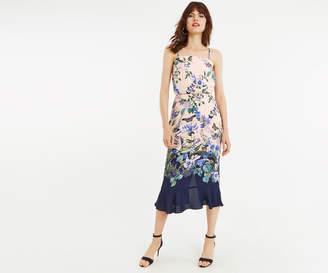 Oasis BLOOM PRINT COLUMN DRESS