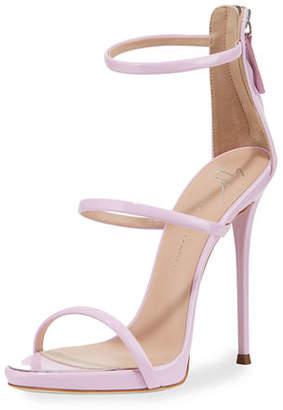0633328f88111 at Neiman Marcus · Giuseppe Zanotti Three-Strap 120mm Sandals
