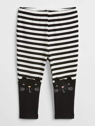 Gap Cat Stripe Leggings