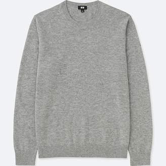 Uniqlo Men's Cashmere Crew Neck Long-sleeve Sweater