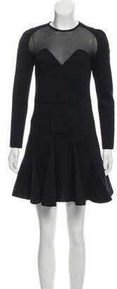 Antonio Berardi Long Sleeve Mini Dress