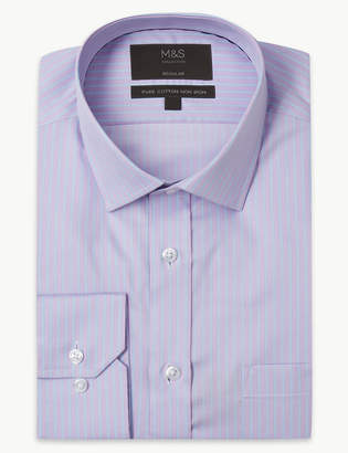 Marks and Spencer Pure Cotton Non-Iron Twill Shirt
