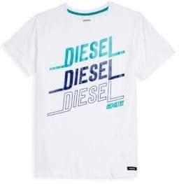 Diesel Boy's Logo Cotton Tee
