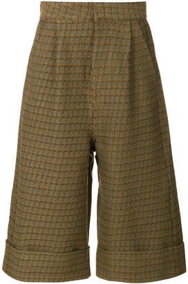 MM6 MAISON MARGIELA wide-legged cropped trousers