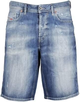 Diesel Faded Denim Shorts