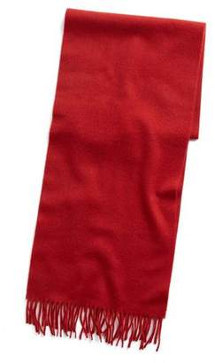 a09ffc869 Joshua Ellis Solid Cashmere Scarf in Red