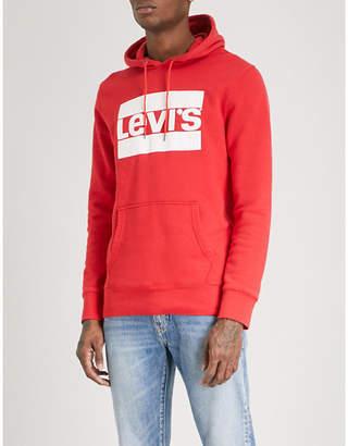 Levi's Graphic logo cotton-jersey hoody